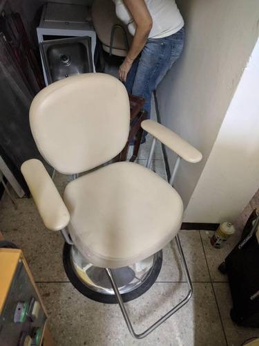 silla de peluqueria hidraulica
