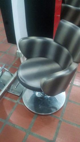 silla de peluquería o barbería