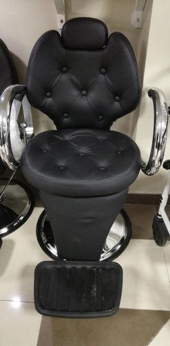 silla de peluquería reclinable