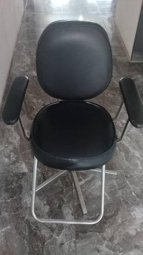 silla de peluquería remate 100$ lista para trabajar