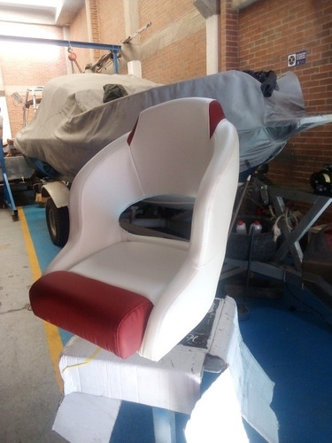silla de piloto de cubo para lancha