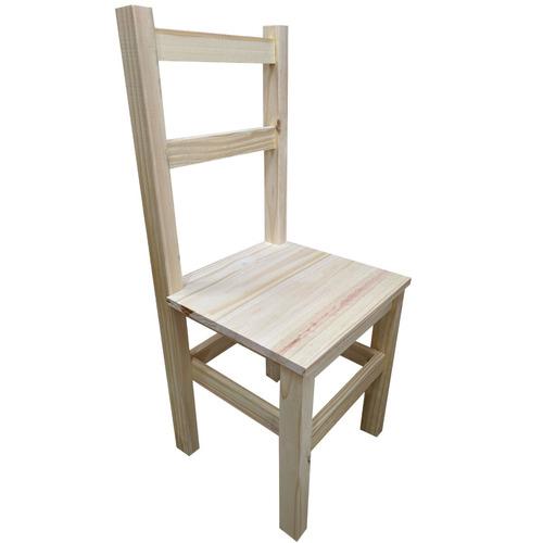 silla de pino 2 fajas eco fabrica argen pino