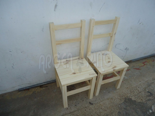 silla de pino 2 fajas fabrica argen pino mesa bar restaurant