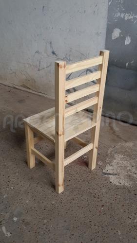 silla de pino 4 fajas fabrica argen pino