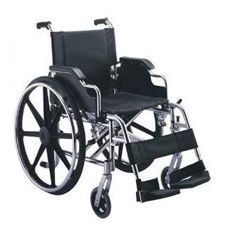 silla de rueda   aluminio brazos piernas desmonta - topmedic