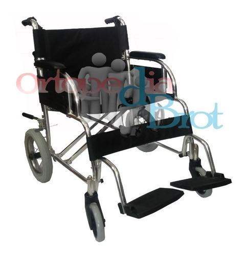 silla de rueda importada ligera de aluminio de paseo