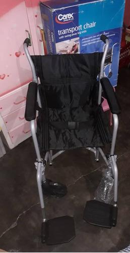 silla de rueda nueva marca carex