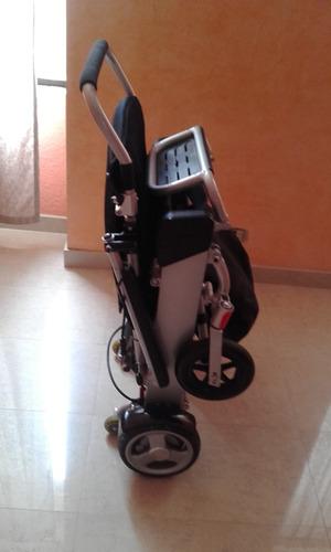 silla de rueda ultra liviana eléctrica