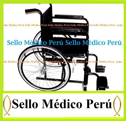 silla de ruedas acolchadas aro grande plegables100%º