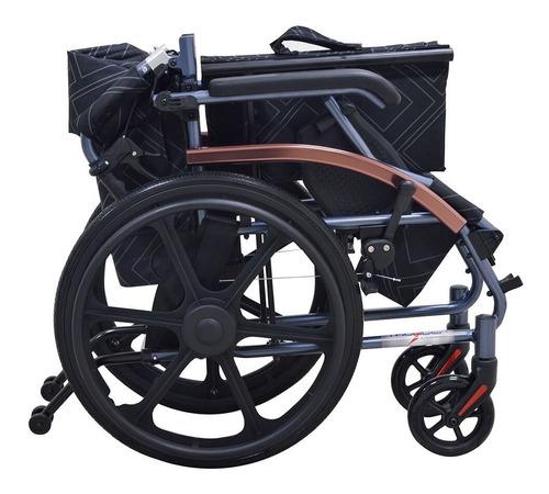 silla de ruedas aluminio compacta super ligera marca thunder