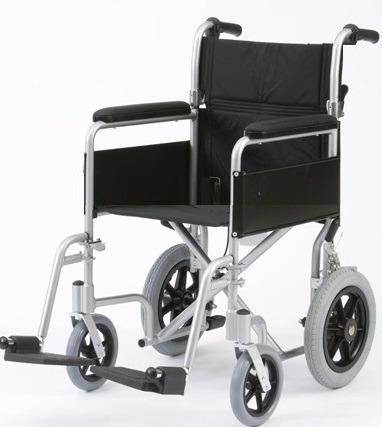 silla de ruedas aluminio importada con espaldar plegableºººº