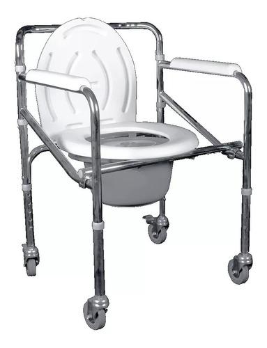 silla de ruedas con comodo plegable