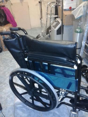 silla de ruedas con llantas de goma con garantia