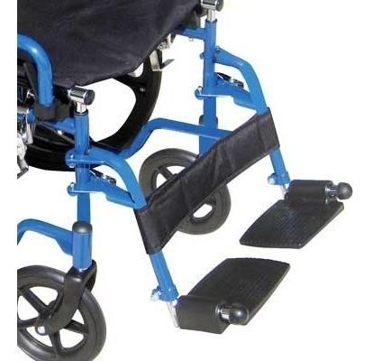 silla de ruedas de lujo azul 18  strek drive bls18fbdsf
