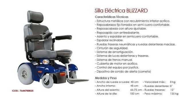 Ruedas Silla De De Blizzard Silla Electrica Ruedas wOnkX0N8P