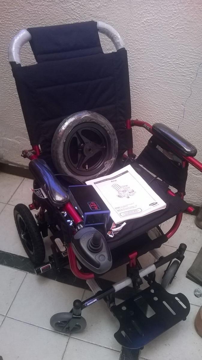 silla de ruedas electrica invacare atm1816r