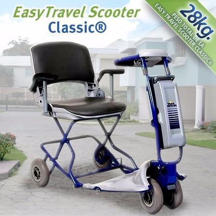 silla de ruedas eléctrica, ligera, plegable. scooter tzora.