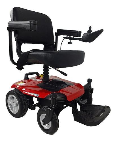 silla de ruedas eléctrica power compacta y desarmable.