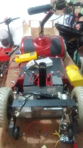 silla de ruedas eléctrica y scooter, reparación servicio tec