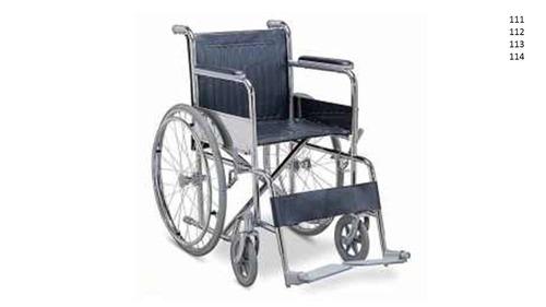 silla de ruedas estandar rin radio, maciza, nylon