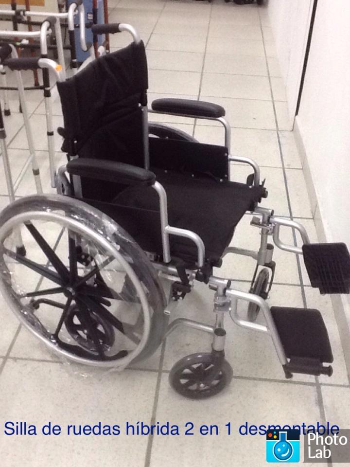 silla de ruedas hibrida