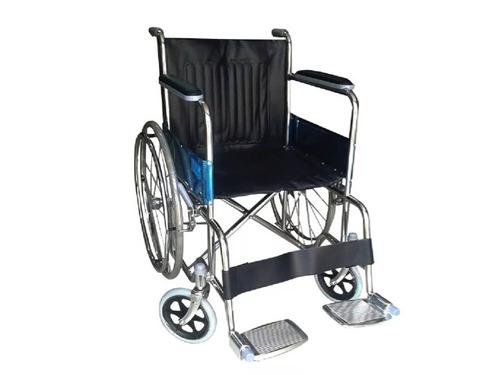 silla de ruedas importada cromada de acero