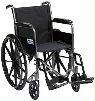 silla de ruedas marca drive medical - segunda