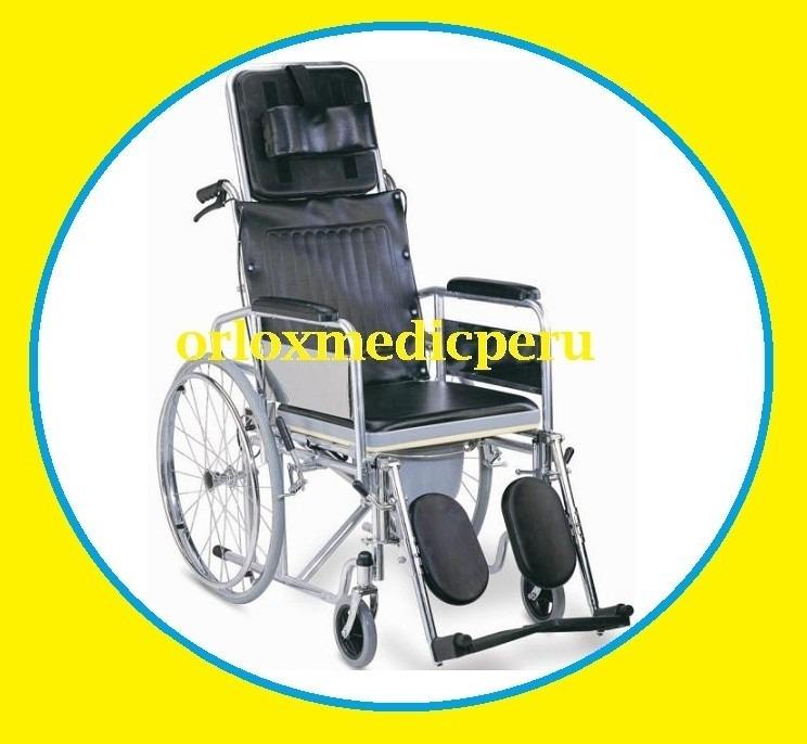 Silla de ruedas neurologica importada 6 en 1 tipo cama s for Silla neurologica
