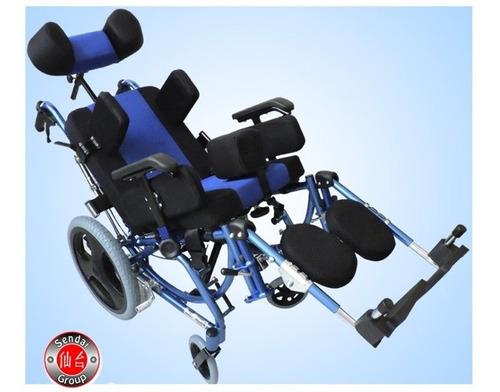 silla de ruedas neurologica pediatrica/adulto ph2000a-b azul