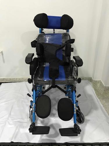 silla de ruedas neurológica reclinable basculante nueva niño