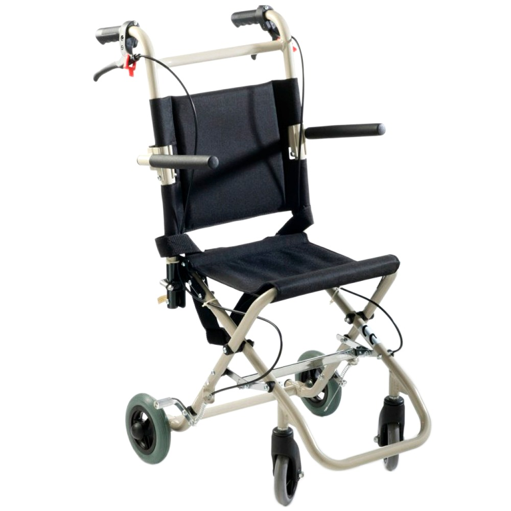 silla de ruedas compacta