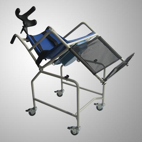 silla de ruedas pato,sanitaria,cómodo,neurológica, envío gra