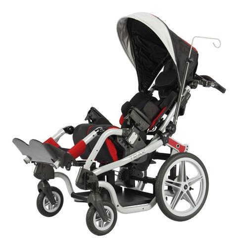 silla de ruedas pci tipo carreola infantil c/ posicionamient