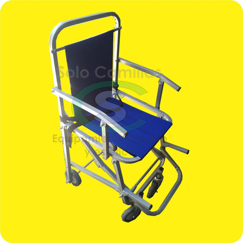 silla de ruedas plegable para ambulancias-traslados-emergenc