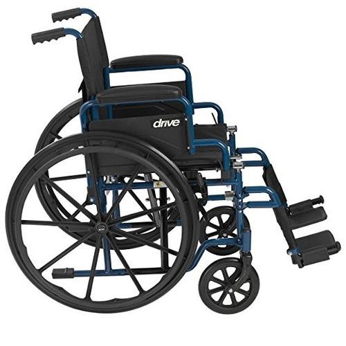 Silla de ruedas plegable robusta tercera edad discapacidad for Sillas para tercera edad