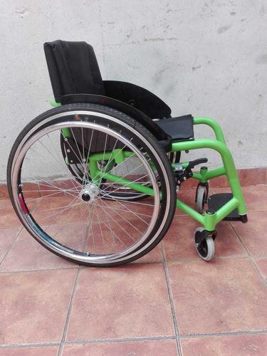 silla de ruedas semi deportiva