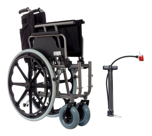 silla de ruedas sobrepeso con descansapies 150kg - mobicare