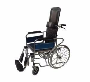 silla de ruedas tipo camilla century medical