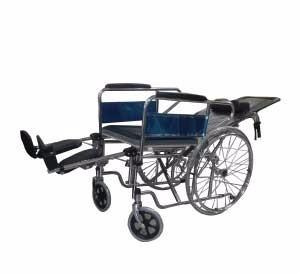 silla de ruedas tipo camilla