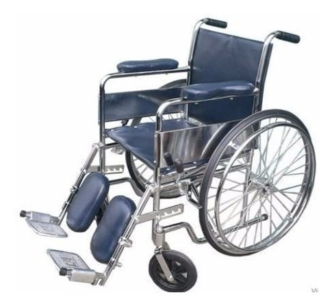 silla de ruedas traumatologica fractura pierna desmontableºº