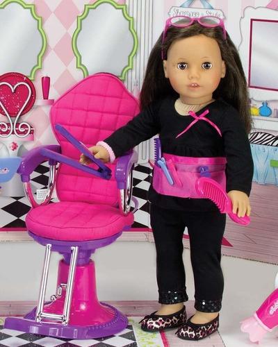 silla de salón de belleza sophia's muñeca envío gratis