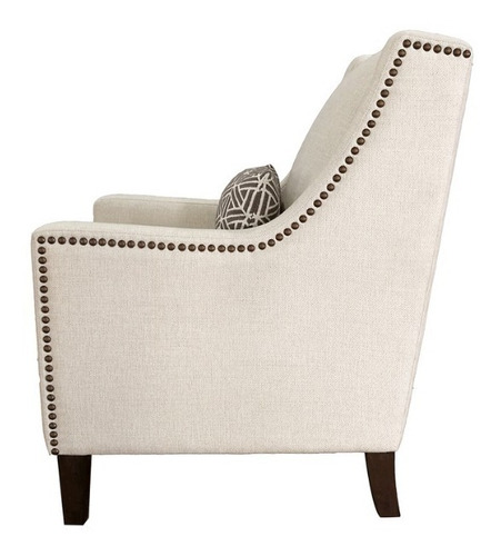 silla de tela beige true innovation sophia