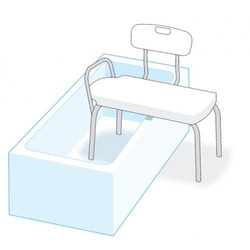silla de transferencia para ducha - ortopedia - no envío