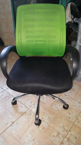 silla dinamic malla verde base agrimada