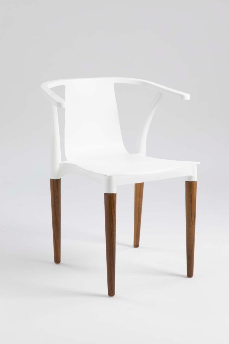 Silla Diseño Comedor Vintage Wood Estilo Eames Palta