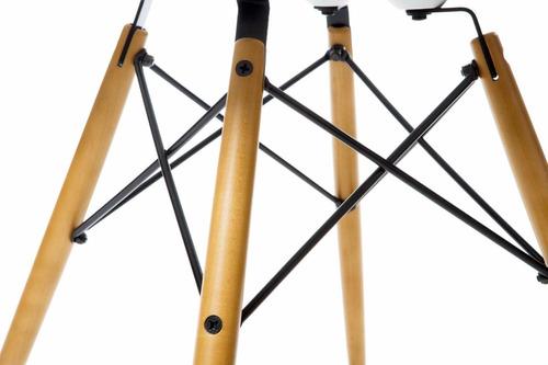 silla diseño eames dsw con almohadón  - dg estilo