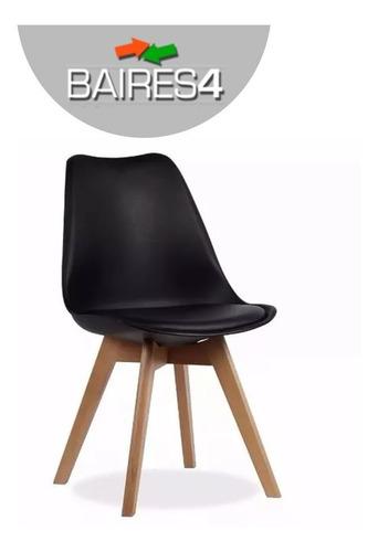 silla diseño tulip eames comedor living diseño x4 baires 4