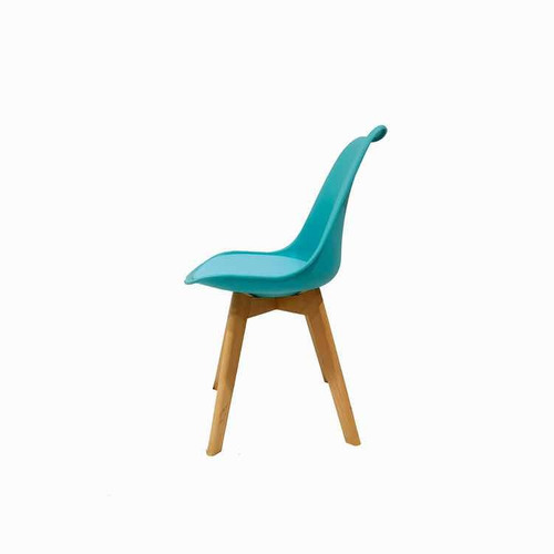 silla eames acolchada dsw madera gruesa comedor escritorio