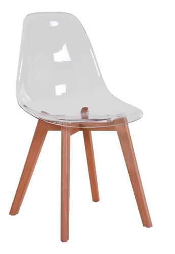 silla eames acrilico transparente sillas comedor minimalista