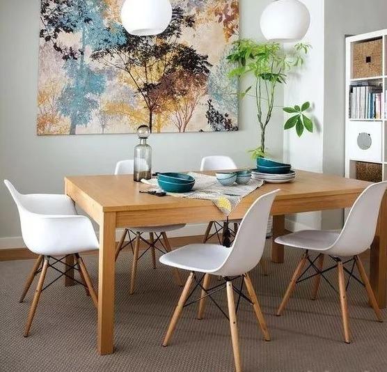 Silla Eames Base Madera Comedor Moderno - Varios Colores - $ 1.190 ...